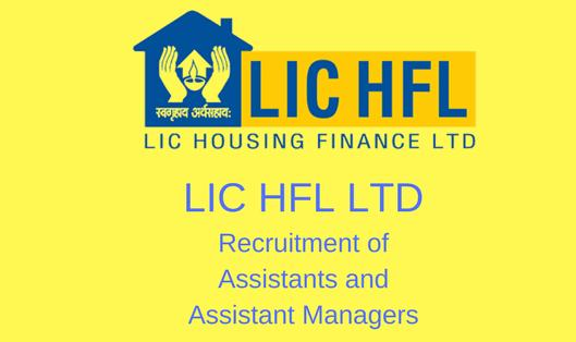 lic housing finance recruitment