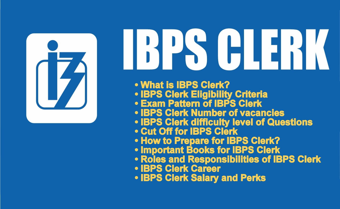 Details about IBPS Clerk